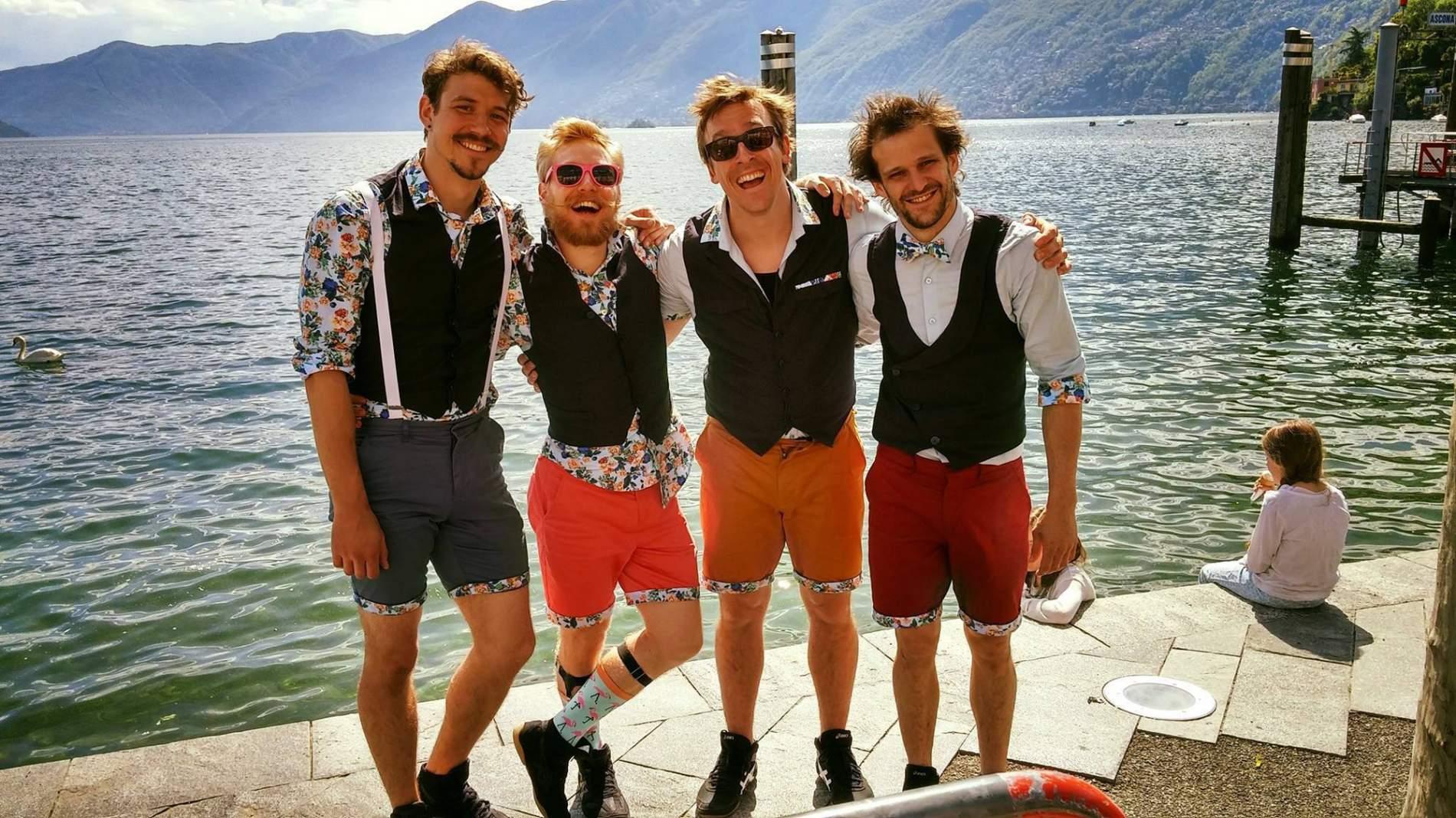 What's next Quatuor Stomp cirque spectacle rue acrobatique comedie